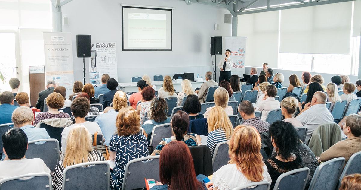 """Conferinţa""""Auditul clinic și îngrijirea pacientului – parte a managementului calității în sănătate"""""""